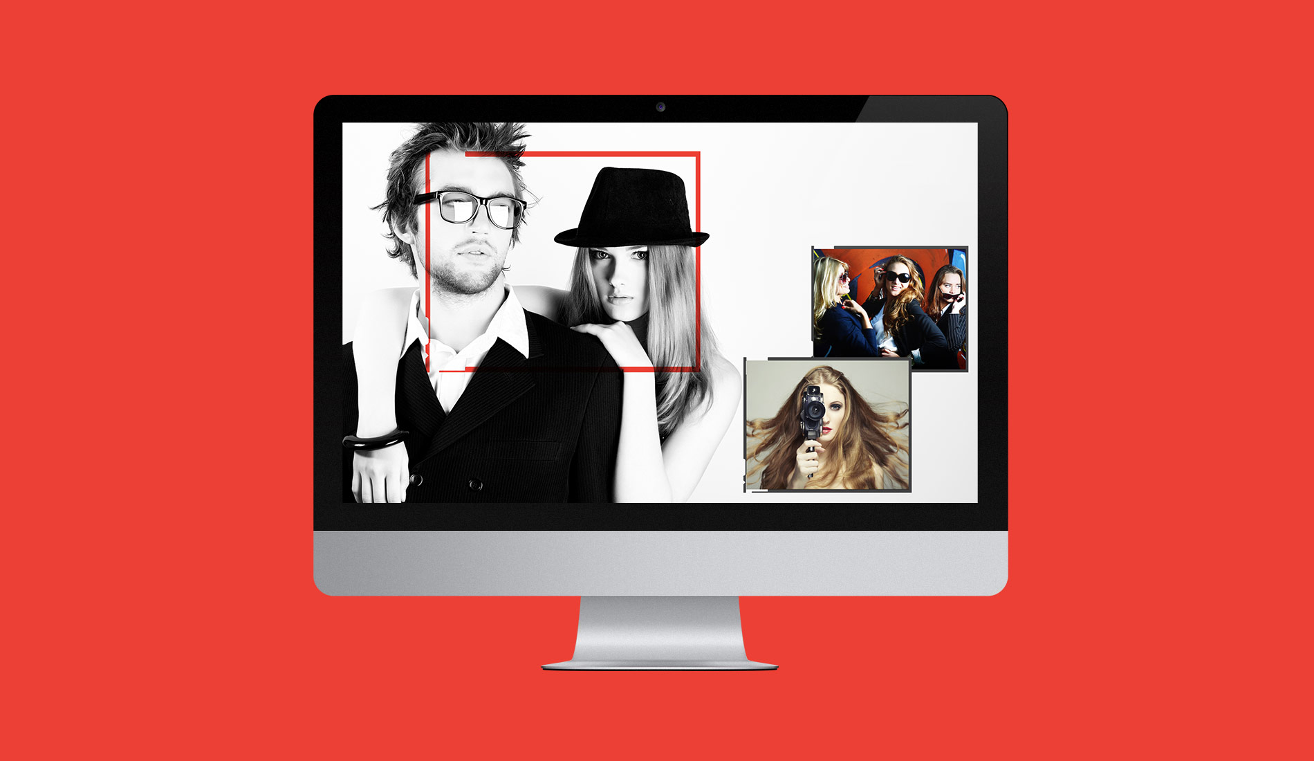 Responsive web design for a website designed for art students