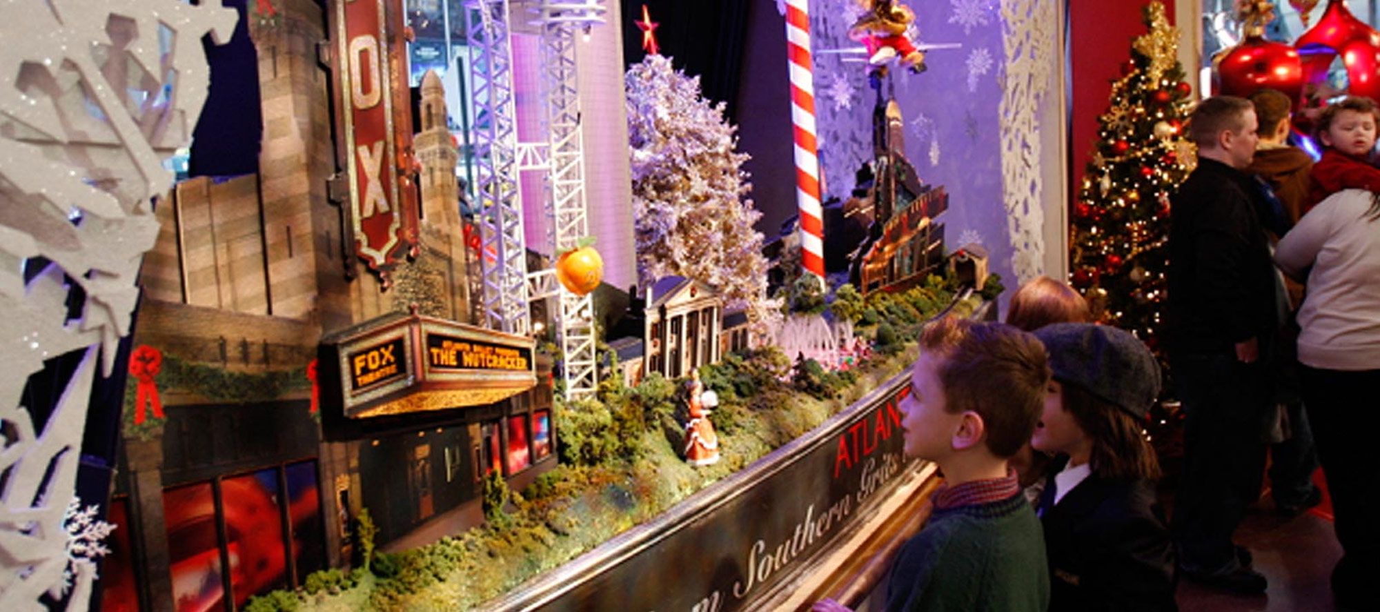 A model of Atlanta, featured on Good Morning America
