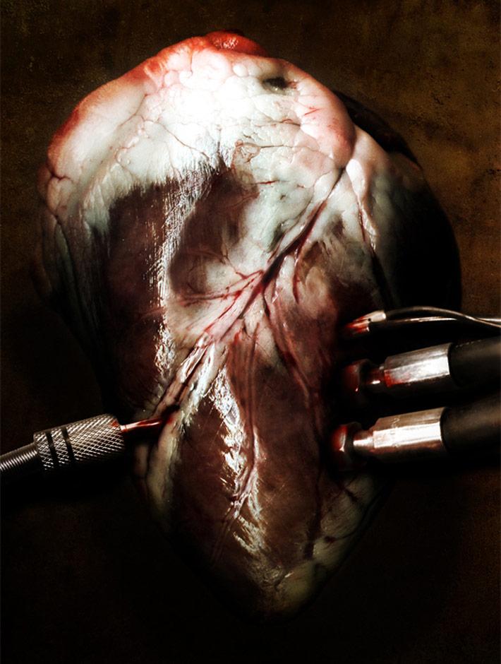 Illustration for Seether's Karma & Effect album