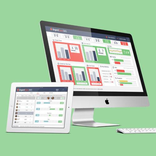UX design for urgent care application suite