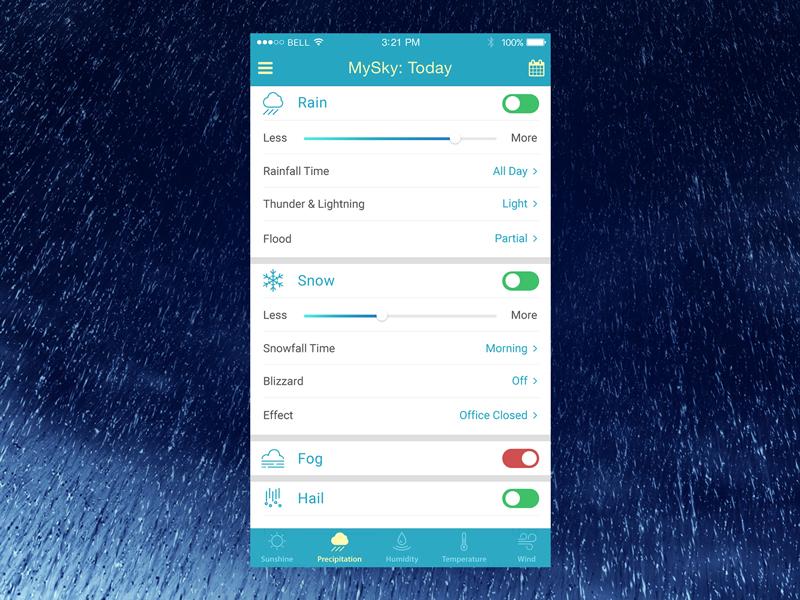Daily UI Challenge 007 - Settings