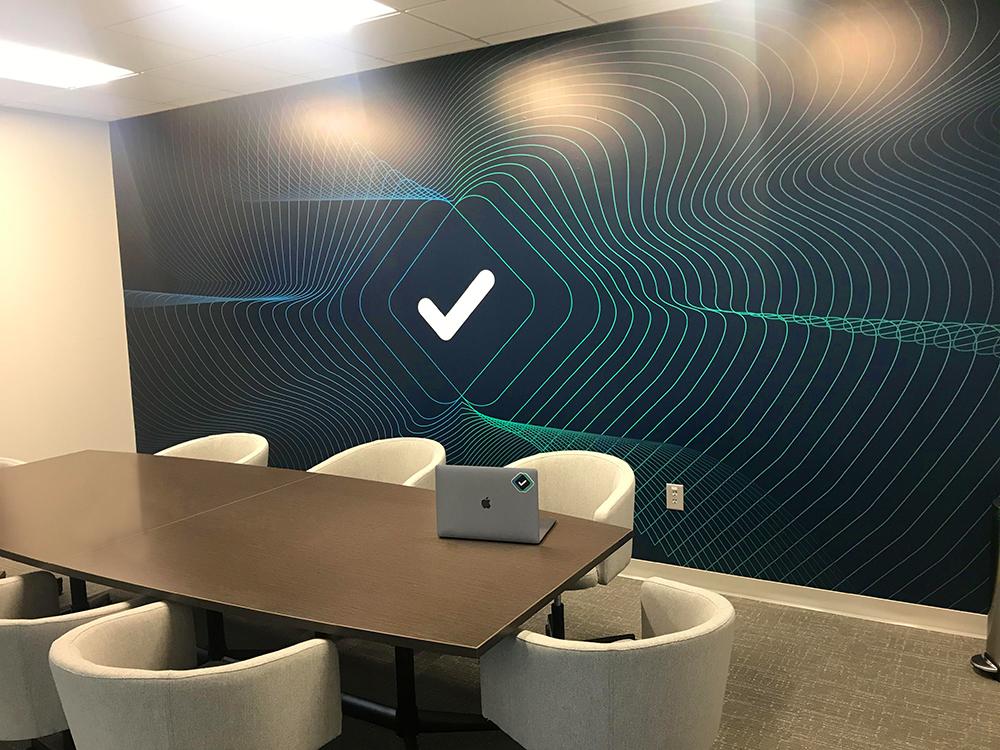 Branded conference room