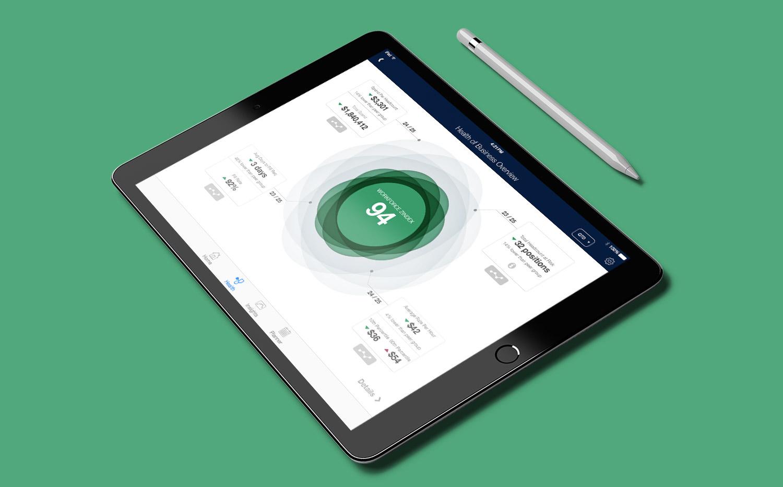 UX design for talent sourcing app